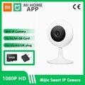 2021 Xiaomi Mijia умная IP-камера Mini 1080P HD Беспроводная Wi-Fi инфракрасная камера ночного видения Xiaobai IP домашняя камера видеонаблюдения