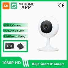 2021 xiaomi mijia câmera ip inteligente mini 1080p hd sem fio wifi visão noturna infravermelha xiaobai ip casa cam cctv