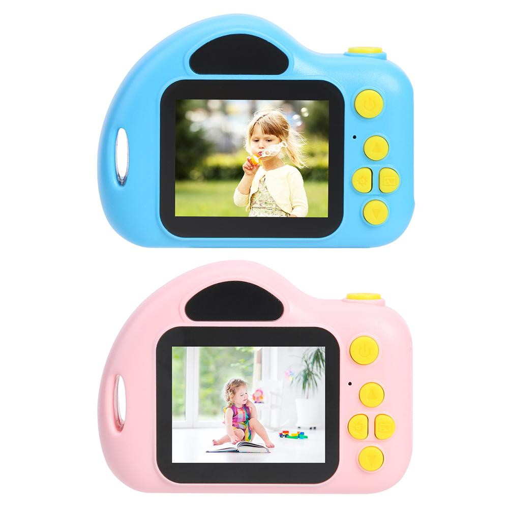 C5 2.0 Inch Color Screen Kids Digital SLR Video Camera Alpinia 100 Degree Angle High Definition Support Mini Memory Card