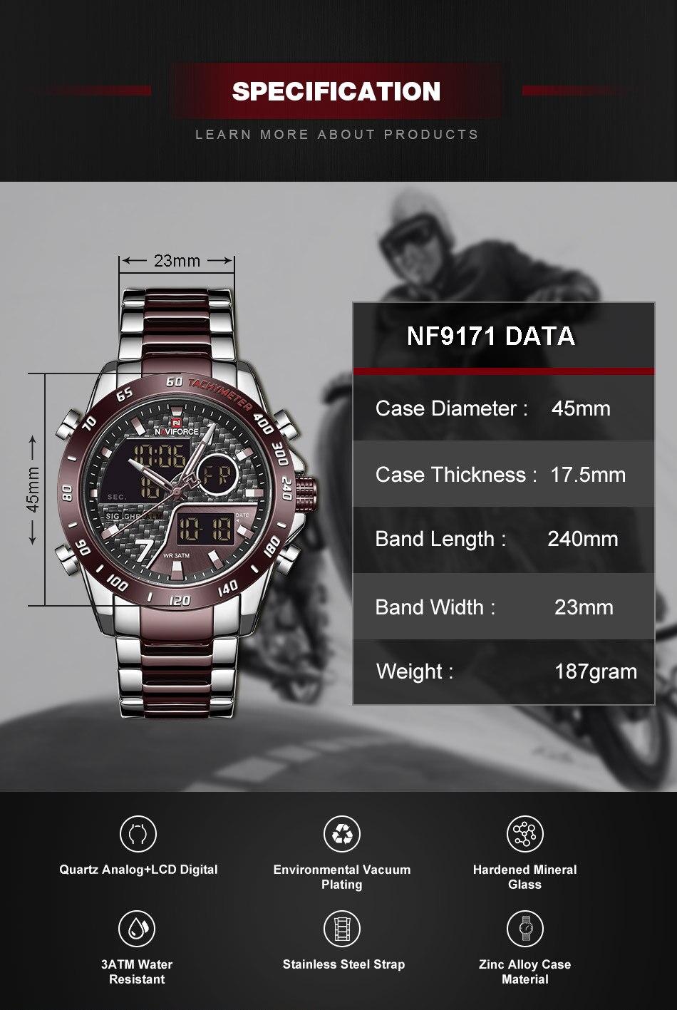 Hd9c3737b3071471fadc6d65d2a732c47a NAVIFORCE Men Digital Watch LED Sport Military Mens Quartz Wristwatch Male Luminous Waterproof Clock Watches Relogio Masculino