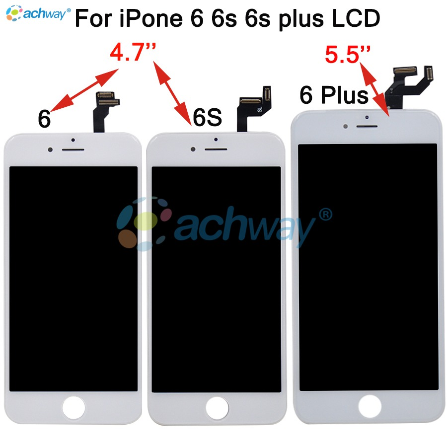 iPhone 5S 6 6S 6S Plus 7 LCD Display with Touch Screen