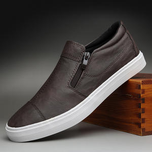 Men's Shoes Spring Male Slip-On Korean-Version Fashion Solid Linking Low-Top New-Model