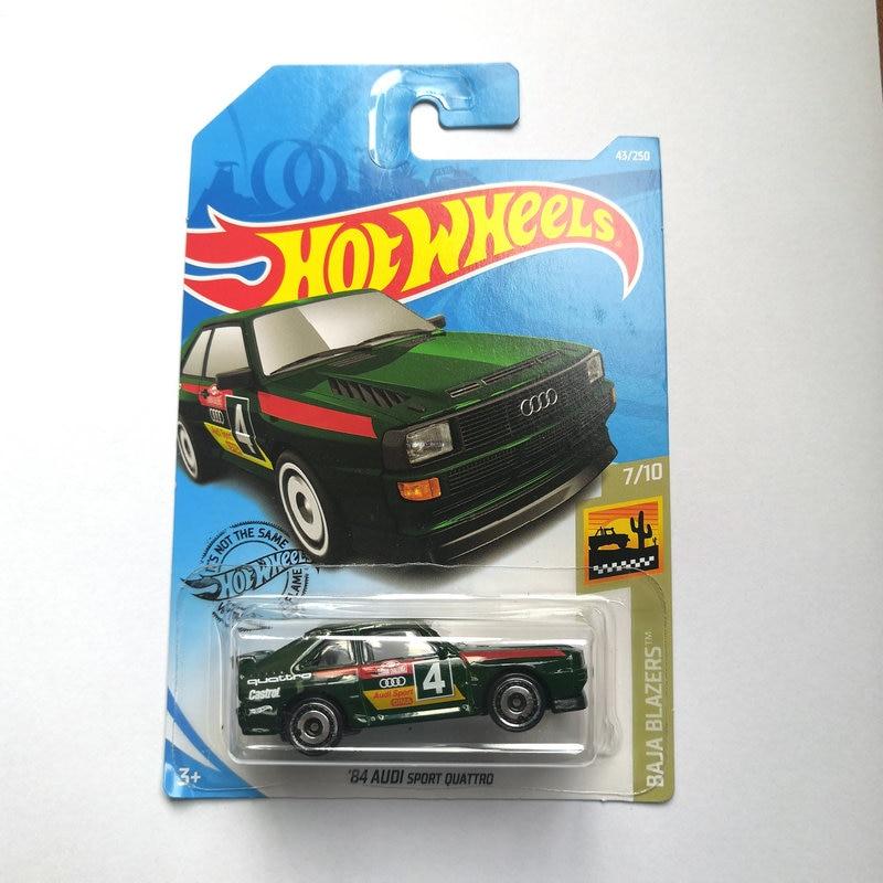 2019 Hot Wheels 1:64 Car AUDI BATMOBILE HONDA FORT CHEVY Metal Diecast Model Car Kids Toys