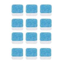 12pcs Antibacterial Washing Machine Cleaner Descaler Deep Cleaning Remover Deodorant Durable Multifunctional Laundry Supplies