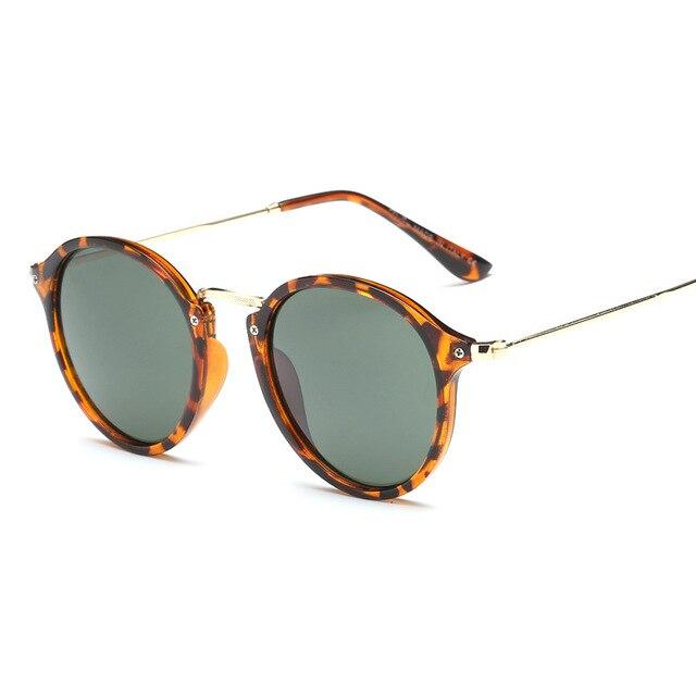 LeonLion-gafas De Sol redondas para hombre y mujer, lentes De Sol Retro De marca De diseñador, De moda, Vintage, De lujo 3