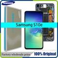 100% Оригинальный 2280x1080 ЖК-дисплей для SAMSUNG Galaxy S10E G970F/DS G970U G970W SM-G9700 дисплей сенсорный экран дигитайзер Замена