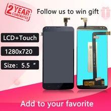 5.5 インチのタッチスクリーン + 1280X720 液晶ディスプレイアセンブリの交換 doogee X30 モデル電話