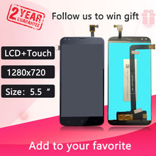 5.5 polegada tela de toque + 1280x720 display lcd assembléia substituição para doogee x30 modelo telefone