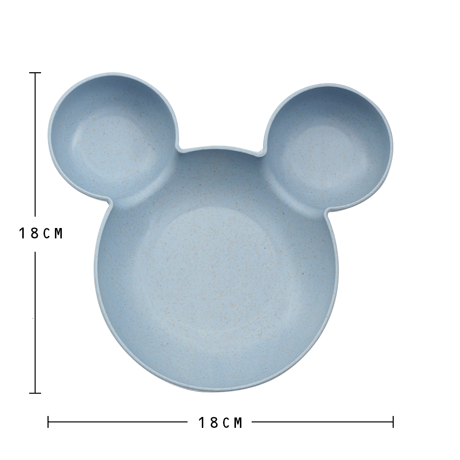 Blue Baby Cartoon Mouse Bowl