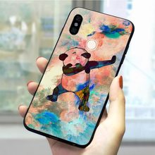 Panda Dab on the EM Soft TPU Cover for Xiaomi Mi CC9 Phone Case for 8 Lite 8se 9 2S 9T Pro CC9E A3 F1 A1 5X A2 6X 6 Back(China)