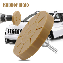 Novel 3.5Inch Rubber Pinstripe Decal Wheel Pad Sticker Removal Tool with Arbor Shipping