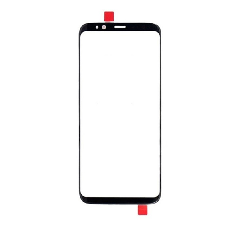 S 8 Outer Screen For Samsung Galaxy S8 G950 Front Touch Panel LCD Display Out Glass Cover Lens Phone Repair Replace Parts + OCA