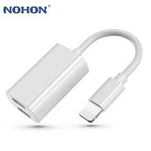 Otg-Adapter Cable-Charging-Splitter Headphone Dual Lightning Audio 8-Plus 2-In-1