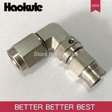 Haokule נירוסטה 90 תואר AN3/3AN 3/8 24UNF חוט צינור סוף AN3 טפלון PTFE צינור END בלם מערכת אבזרי