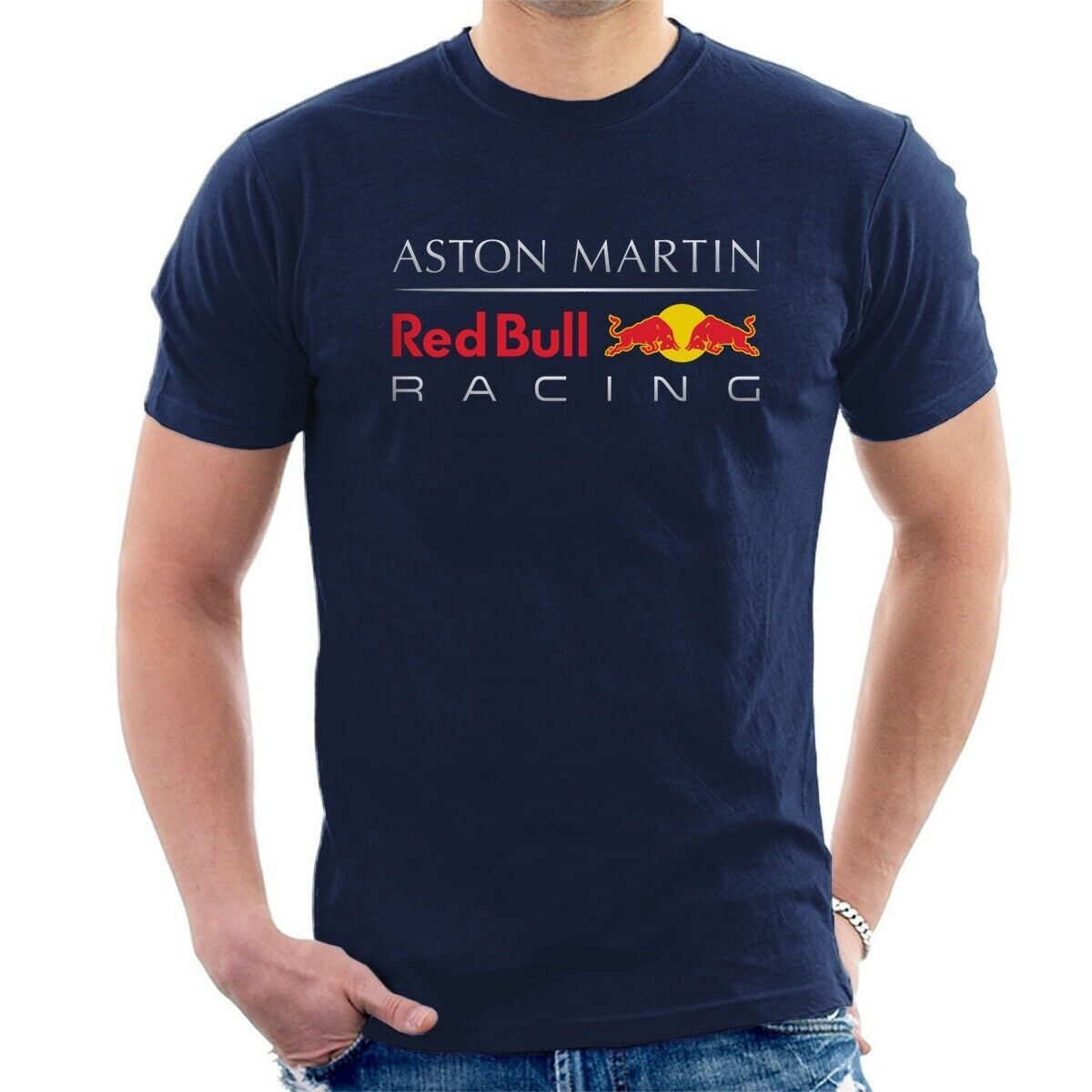 Aston Martin Red Racing Bull T-Shirt Inspired F1 Team Tee Streetwear Size S-3Xl
