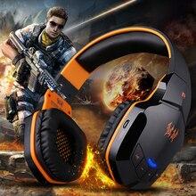B3505 Drahtlose Kopfhörer Mit Mikrofon Über Ohr Stereo Bluetooth Headset Tiefe Bass HiFi Gaming Kopfhörer Gamer Für Telefon BT 4,1