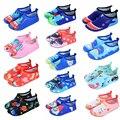 Быстросохнущие плавающие водные тапочки для мальчиков и девочек  детская обувь с мехом животных  детская обувь  детские плавающие Тапочки