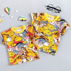 Baby Boys Clothing Sets Brand Cartoon Bear Children Summer Boys Girl Clothes Kids Set Cotton T-shit + Short Pants Hot(China)