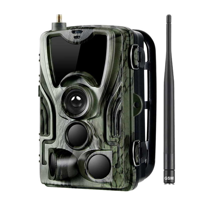 Hc 801M Hunting Trail Camera 2G Sms/Mms/Smtp Wild Camera 0.3S Trigger Photo Traps for Animal 16Mp Hd Night Version Scout Camera|360° Video Camera| |  - title=