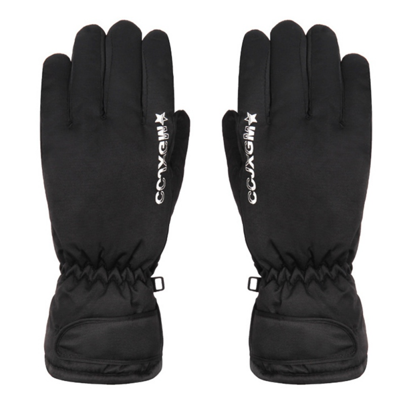 Men Women Snowmobile Winter Warm Ski Gloves Sports Waterproof Windproof Snow Mitten Adjustable Skiing Gloves