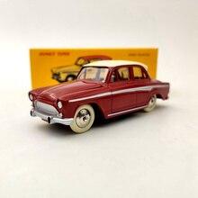 Deagostini 1:43 dinky brinquedos 544 simca aronde p60 vermelho diecast modelos coleção
