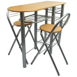VidaXL Küche/Frühstück Bar/Tisch Und Stühle Set Holz 240096