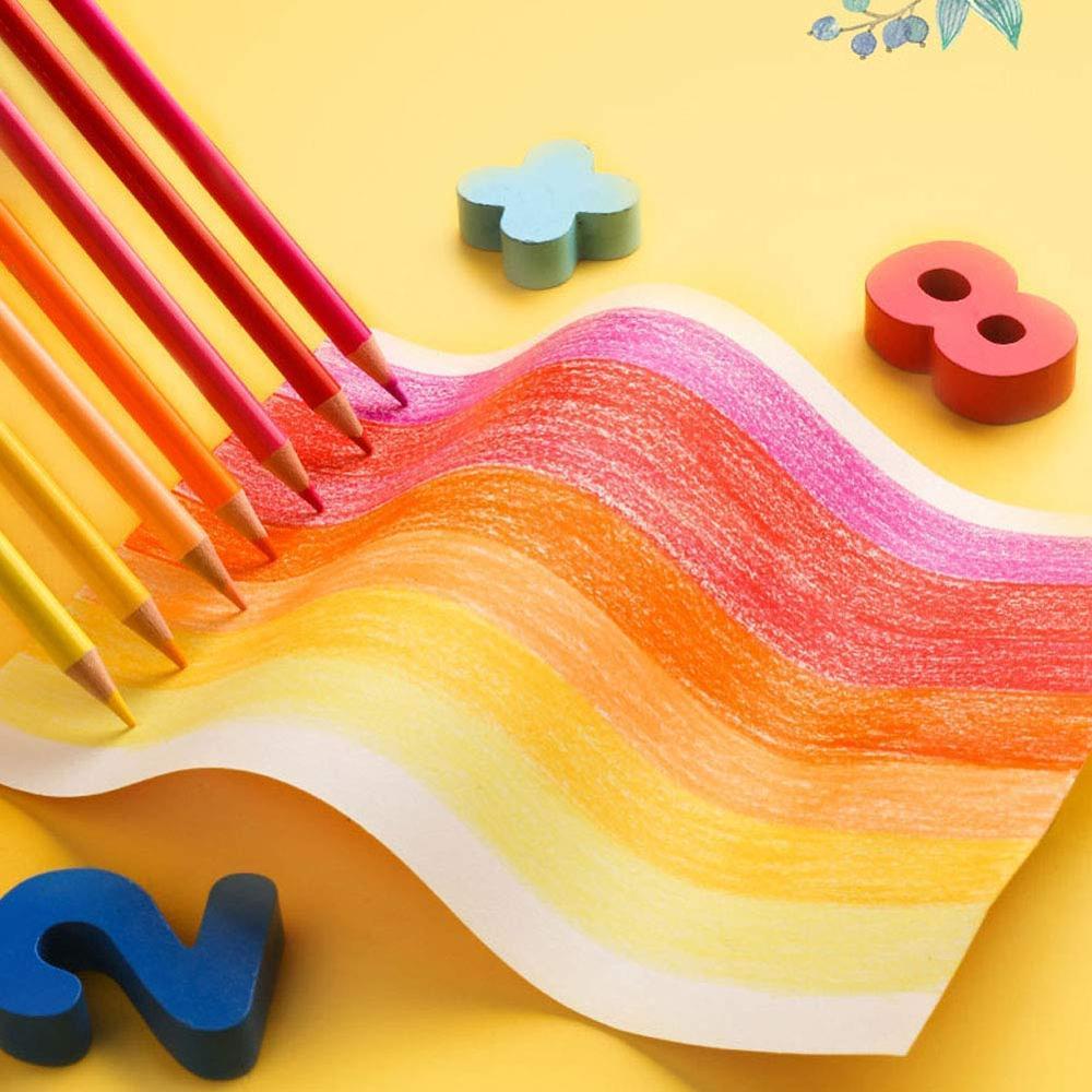 Lápices de acuarela de 180 colores para dibujar, colorear y dibujar - 3