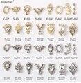 10 шт./лот, 3d дизайн ногтей, элегантный дизайн, Золотой/Серебряный сплав с жемчугом, кристаллами, стразами, Типсы для ногтей, красота