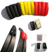 2 pçs arco membros estabilizador extremidade do membro amortecedor arco corda estabilizador amortecedor takedown arco recurvo tradicional reduzir o ruído
