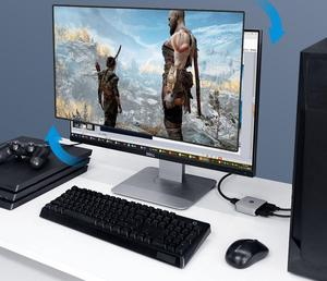 Image 3 - Youpin HAGiBiS שני דרך הפצת HDMI Switcher תמיכת HD 4K מתאים HDMI ממשק מכשירים