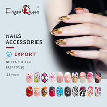 24 stks/set Fake Nail Volledige Cover Art Design Sexy Schattige Mode Acryl Valse Nail Faux Nail Tips Deel 3 Van 96 ontwerp Patronen(China)