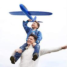 1 PC Glider Airplane Toy Outdoor Funny Hand Throwing Glider Flying Airplane Aircraft Children Kids Toy цена 2017