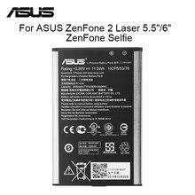 """ASUS 원래 배터리 C11P1501 2900mAh ZenFone2 레이저 5.5 """"/6"""" ZenFone 셀카 ZE550KL ZE601KL Z00LD Z011D ZD551KL Z00UD"""