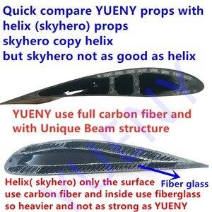 Image 3 - YUENY CorsAir M25 105,110, 115, 120,122,125cm  carbon fiber paramotor propeller powered paraglider propeller good quality carbon