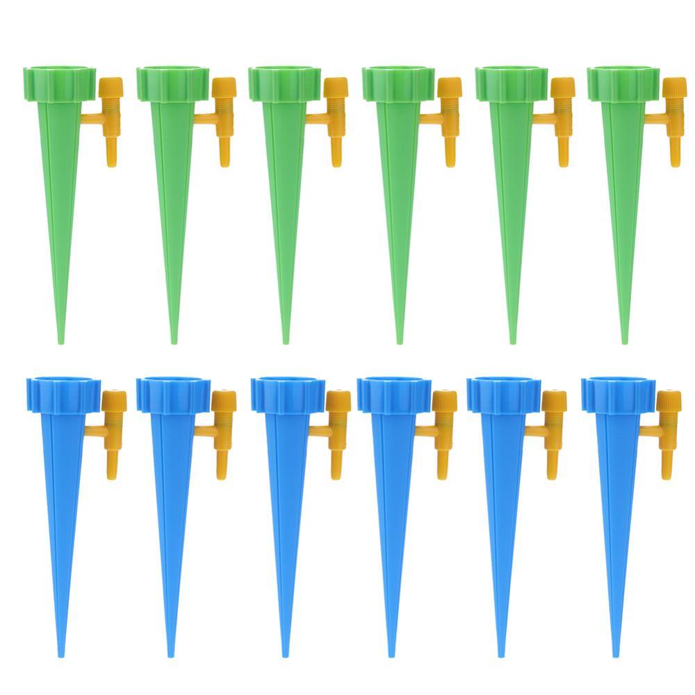 1-30 шт./компл. автоматического полива Спайк зеленый капельного полива и орошения Системы автоматического полива Спайк для цветочных растений в помещении инструмент для полива - Цвет: 12pcs Multicolor