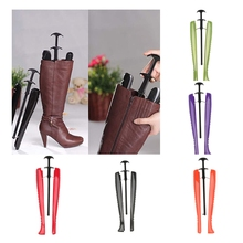 1pc 48cm Practical Rack Supporter Women Ladies Long Boot Shoe Stretcher Tree Shaper With Handle Automatic Home Tools