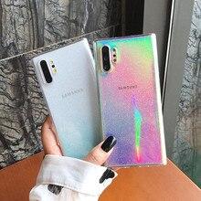 Fashion Pink Glitter Powder Phone Case For Samsung