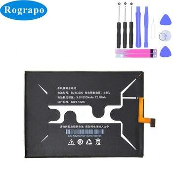 Batería de repuesto 3,8 V 3200mAh Original BL-N3200 para baterías de teléfono inteligente Gionee X817 BLN3200 Bateria baterij