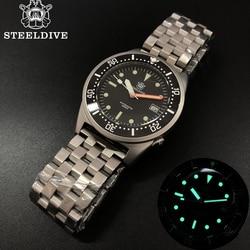 STEELDIVE 1979 Shark Dive Watch 200m Mechanical Watch Men Wrist Automatic C3 Super Luminous 1979 Replica Automatic Watches Men