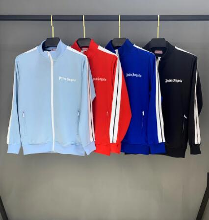 2021 Hot Palm angels Popular fashion personality all-match simple striped running casual Men's Sets