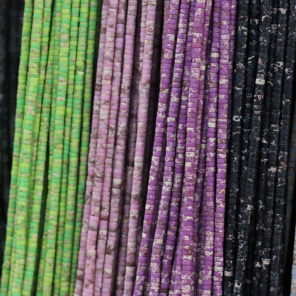 Natural Stone Scattered Bead Column Shape Agates Crystal String Beads For Jewelry Making DIY Necklace Bracelet Accessories