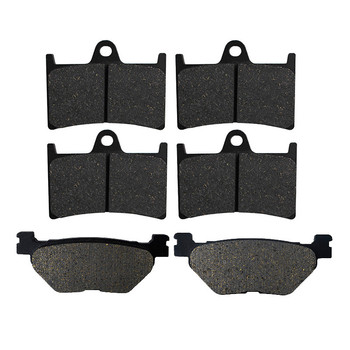 Motorcycle Front and Rear Brake Pads for YAMAHA T-Max 530 XP530 TDM900 XT1200Z FJR1300A FJR1300 XV1900 XV1700 Super Tenere Black image