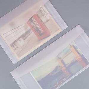 Image 1 - 50pcs Blank Doorschijnend Papier Envelop Vintage Enveloppen Voor Uitnodigingen Wedding Gift Card Envelop Postkaarten Brief Opbergtas