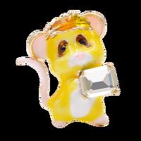 Bonito pequeño ratón forma broches para mujeres de tres colores elige el broche encantador dibujos animados pasadores de animales popular pequeño regalo para amigo