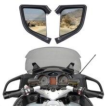 اليسار اليمين مرآة الرؤية الخلفية لسيارات BMW R1200RT R1200 RT 2005 2012 06 07 08 09 10 دراجة نارية الملحقات