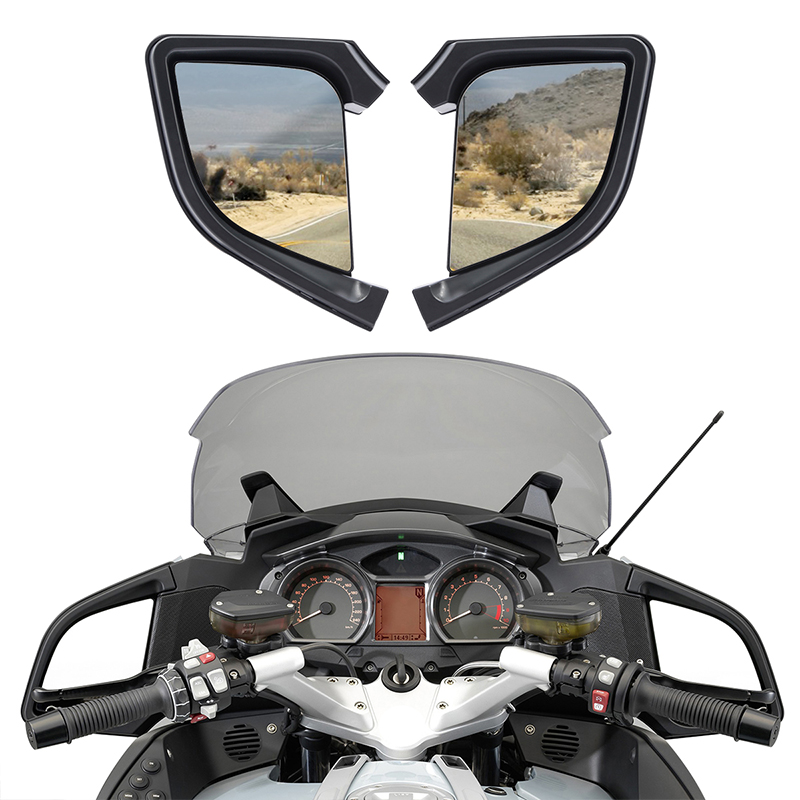 Left Right Rear View Mirror For BMW R1200RT R1200 RT 2005 2012 06 07 08 09 10 Motorcycle Accessories-in Side Mirrors & Accessories from Automobiles & Motorcycles