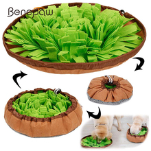 Benepaw Interactive Dog Puzzle Toys Encourage Natural Foraging Skills Portable Nonslip Pet Snuffle Mat Slow Feeder Easy To Clean