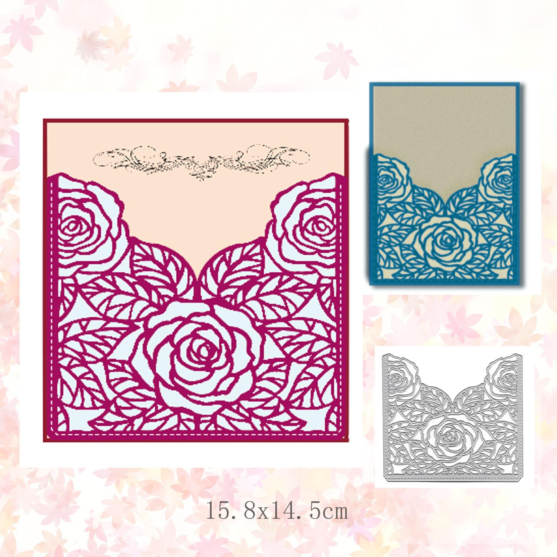 Frame Lace Metal Cutting Dies Stencil Scrapbooking DIY Album Cards Craft Making