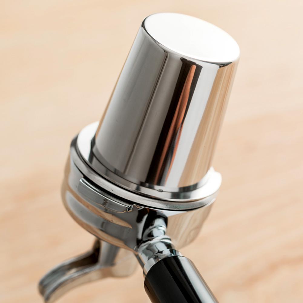 Supporto Dropshipping di Caffè In Acciaio Inox di Dosaggio Tazza di Polvere Feeder Parte per 58mm Macchina Per Caffè Espresso di Dosaggio Tazza
