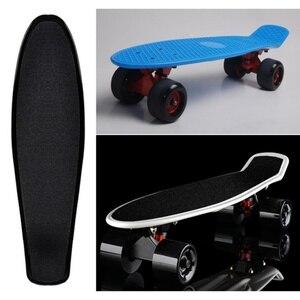 Outdoor Skateboard Sticker Solid/Printed Anti-slip Waterproof Adhesive Single Rocker Sandpaper for Penny Board Hot Sale
